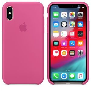 iPhone X/XS Silicone Case - Dragon Fruit